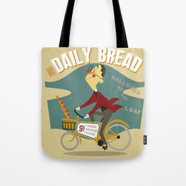 His Daily Bread Tote Bag