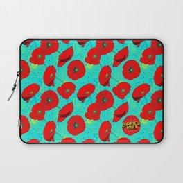 Flor de Amapola Laptop Sleeve
