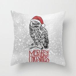 Merry Christmas II Throw Pillow
