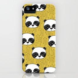 Happy Panda - by Andrea Lauren iPhone Case