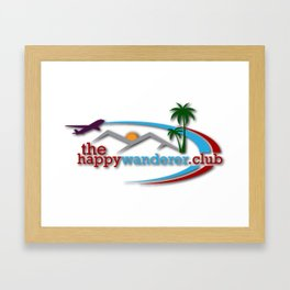 The Happy Wanderer Club Framed Art Print