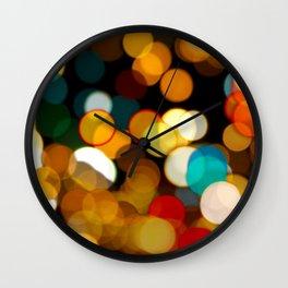 light blur Wall Clock