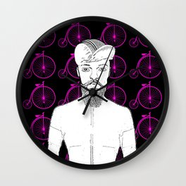 Penny for Your Cycling Thoughts Wall Clock