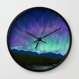 Arctic Aura - Painting Wall Clock