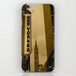 New Yorker Empire State Building iPhone Skin