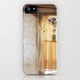 flower and dresses II iPhone Case