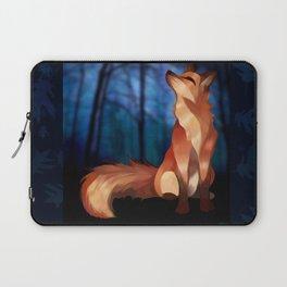 Wild At Heart Fox Laptop Sleeve