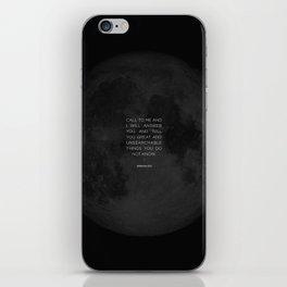 Call To Me iPhone Skin