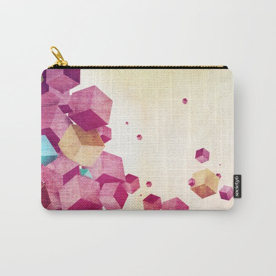 color cubes Carry-All Pouch