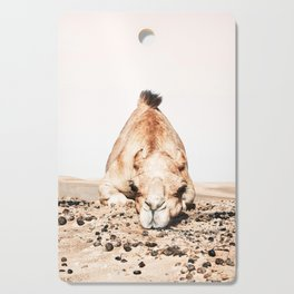 Camille the Camel Cutting Board