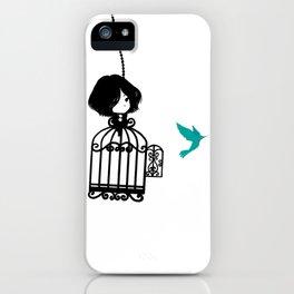 Colibri Cage iPhone Case