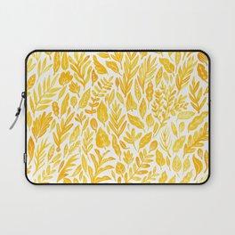 Dandelion Yellow Laptop Sleeve