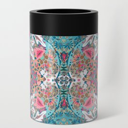 Blossoming Mandala Can Cooler