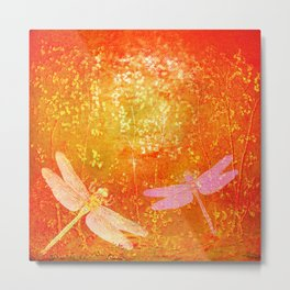 Dragonflies the forgotten clearing Metal Print