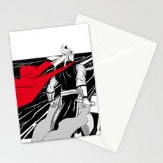 The God of thunder Stationery Cards