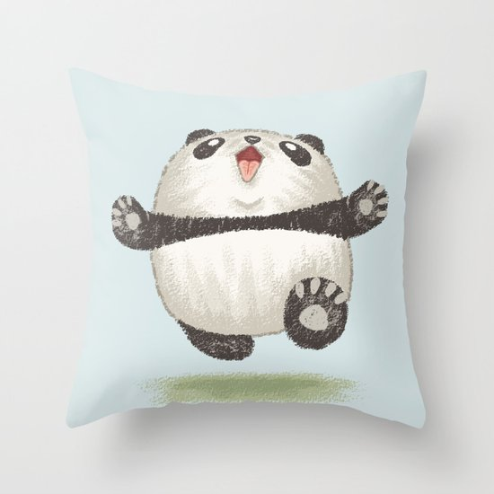 Animal Character Pillow : Panda Throw Pillow by Toru Sanogawa Society6