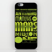 A Million To One iPhone & iPod Skin