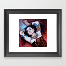 Modern Day Venus Framed Art Print