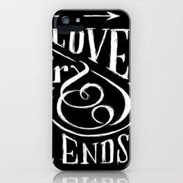 LOVINYOU iPhone Case