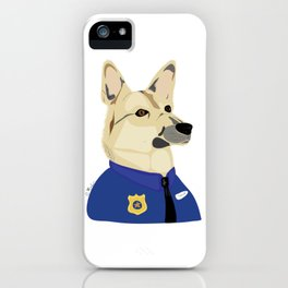 Officer Taylor iPhone Case