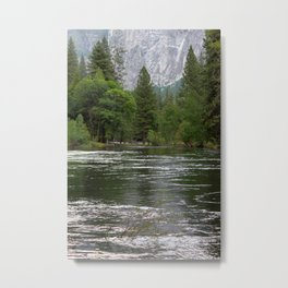Yosemite Merced River Metal Print