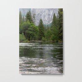 Yosemite Merced River Metal Print