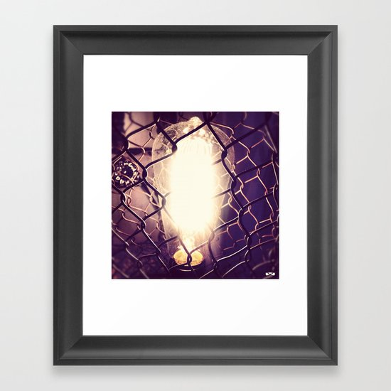 Eureka. Framed Art Print
