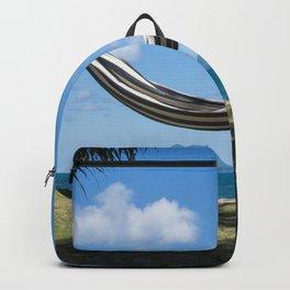 Hammock in the tropics Backpack