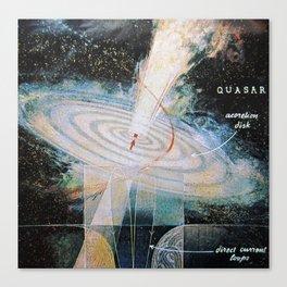 quasar Canvas Print