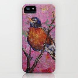 American Robin #6 iPhone Case
