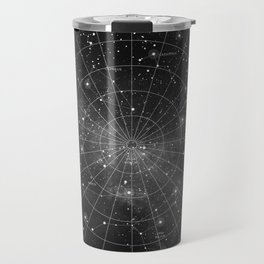 Constellation Star Map (B&W) Travel Mug