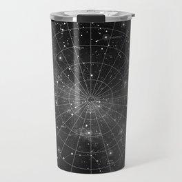Constellation Star Map (B&W) Travel Mug