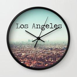 Los Angeles View Wall Clock