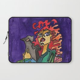 Cat and Her Witch Laptop Sleeve