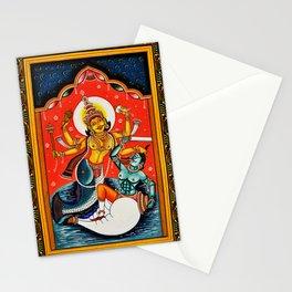 Hindu Durga 7 Stationery Cards