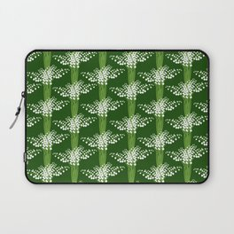 lily of the valley pattern Laptop Sleeve