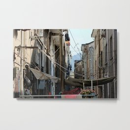 Chinese Cable Metal Print