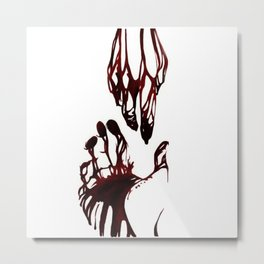 Bleeding Metal Print
