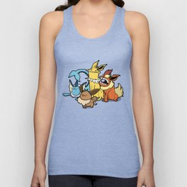 Pokémon - Number 133, 134, 135 and 136 Unisex Tank Top
