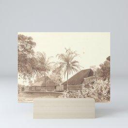 Kurribari Compound, India Mini Art Print