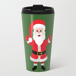 Christmas Santa Claus Says Welcome to You Travel Mug