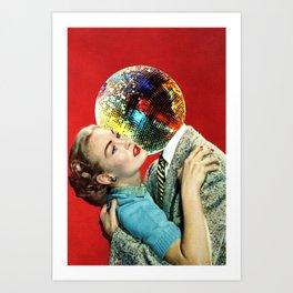 Discothèque Art Print