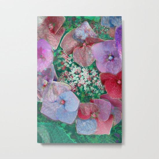 Floral abstract(55) Metal Print