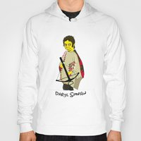 simpson Hoodies featuring Daryl Simpson by sara banu