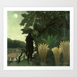 "Henri Rousseau ""The Snake Charmer"", 1907 Art Print"