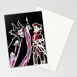 Maleficent & Prince Phillip Stationery Cards