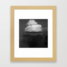 Quotes On Forgiveness Framed Art Print