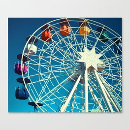 Happy Round N' Round #society6 Canvas Print