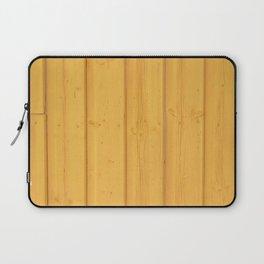 Dark texture fence rough yellow wood Laptop Sleeve
