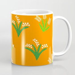 Tropical Flora 4 on Golden Yellow Coffee Mug